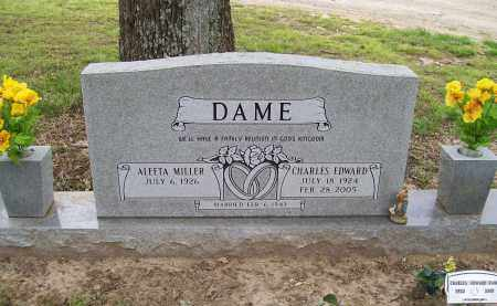 DAME, CHARLES EDWARD - Lawrence County, Arkansas   CHARLES EDWARD DAME - Arkansas Gravestone Photos