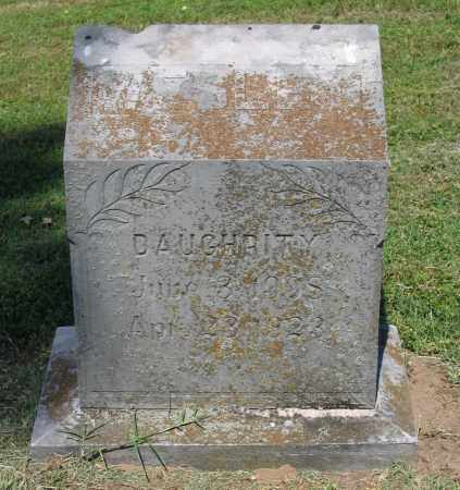 DAUGHRITY, WESLEY - Lawrence County, Arkansas | WESLEY DAUGHRITY - Arkansas Gravestone Photos