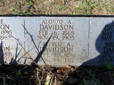 DAVIDSON, ALFRED A. - Lawrence County, Arkansas   ALFRED A. DAVIDSON - Arkansas Gravestone Photos