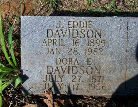 SHELTON DAVIDSON, DORA E. - Lawrence County, Arkansas | DORA E. SHELTON DAVIDSON - Arkansas Gravestone Photos