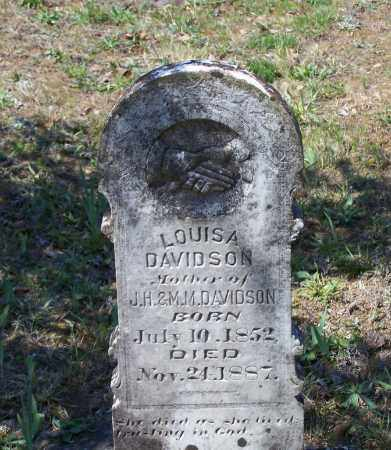 "DAVIDSON, ELIZABETH P. ""LOUISA"" - Lawrence County, Arkansas | ELIZABETH P. ""LOUISA"" DAVIDSON - Arkansas Gravestone Photos"