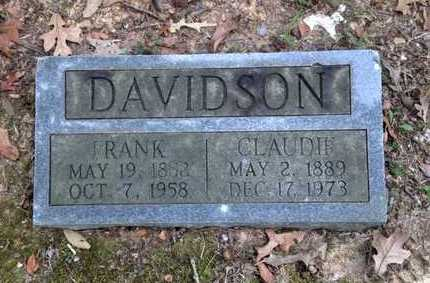 DAVIDSON, FRANK ARNOLD - Lawrence County, Arkansas | FRANK ARNOLD DAVIDSON - Arkansas Gravestone Photos