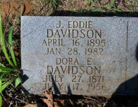 "DAVIDSON, JOSEPH EDGAR ""J. EDDIE"" - Lawrence County, Arkansas   JOSEPH EDGAR ""J. EDDIE"" DAVIDSON - Arkansas Gravestone Photos"
