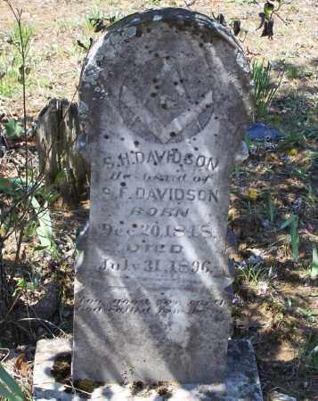 DAVIDSON, SAMUEL H. - Lawrence County, Arkansas | SAMUEL H. DAVIDSON - Arkansas Gravestone Photos
