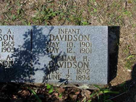 DAVIDSON, WILLIAM H. - Lawrence County, Arkansas | WILLIAM H. DAVIDSON - Arkansas Gravestone Photos