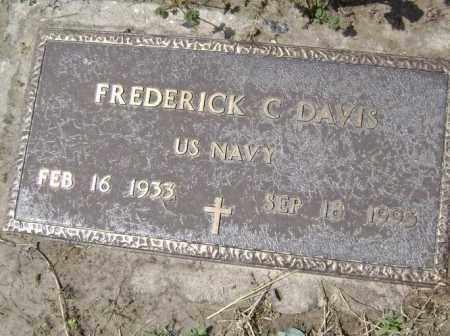 DAVIS  (VETERAN), FREDERICK C. - Lawrence County, Arkansas   FREDERICK C. DAVIS  (VETERAN) - Arkansas Gravestone Photos
