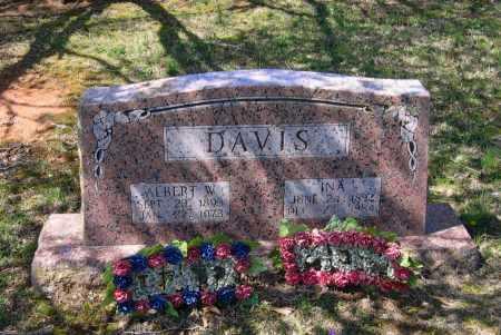 DAVIS, INA - Lawrence County, Arkansas | INA DAVIS - Arkansas Gravestone Photos