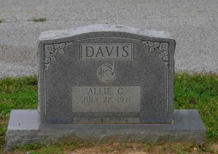 DAVIS, ALLIE GENEVA - Lawrence County, Arkansas   ALLIE GENEVA DAVIS - Arkansas Gravestone Photos