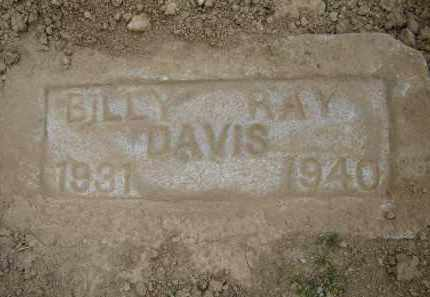 DAVIS, BILLY RAY - Lawrence County, Arkansas | BILLY RAY DAVIS - Arkansas Gravestone Photos