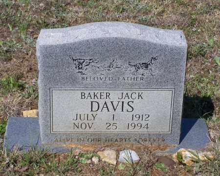 DAVIS, SR., BAKER JACK - Lawrence County, Arkansas | BAKER JACK DAVIS, SR. - Arkansas Gravestone Photos