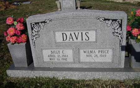DAVIS, BILLY CARTER - Lawrence County, Arkansas   BILLY CARTER DAVIS - Arkansas Gravestone Photos