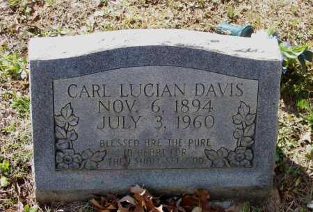 DAVIS, CARL LUCIAN - Lawrence County, Arkansas   CARL LUCIAN DAVIS - Arkansas Gravestone Photos