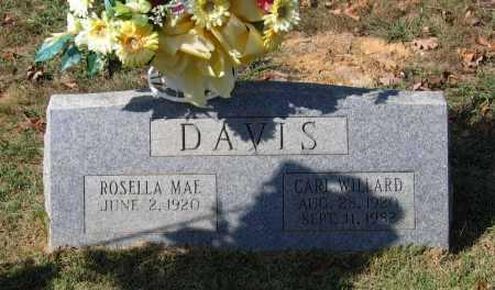 DAVIS, CARL WILLARD - Lawrence County, Arkansas | CARL WILLARD DAVIS - Arkansas Gravestone Photos