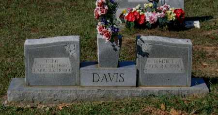 DAVIS, CLEO - Lawrence County, Arkansas | CLEO DAVIS - Arkansas Gravestone Photos