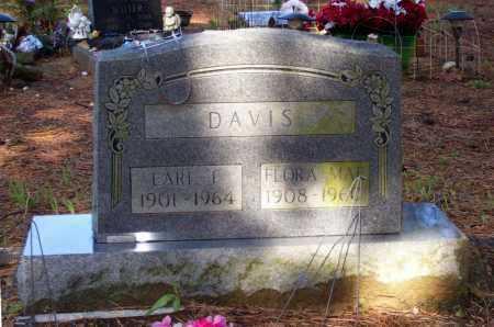 YATES DAVIS, FLORA MAE - Lawrence County, Arkansas | FLORA MAE YATES DAVIS - Arkansas Gravestone Photos