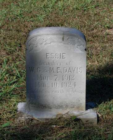 DAVIS, ESSIE - Lawrence County, Arkansas | ESSIE DAVIS - Arkansas Gravestone Photos