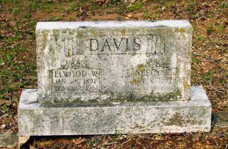 DAVIS, ELWOOD WESLEY - Lawrence County, Arkansas   ELWOOD WESLEY DAVIS - Arkansas Gravestone Photos