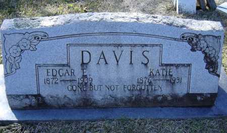 DAVIS, EDGAR EUGENE - Lawrence County, Arkansas   EDGAR EUGENE DAVIS - Arkansas Gravestone Photos