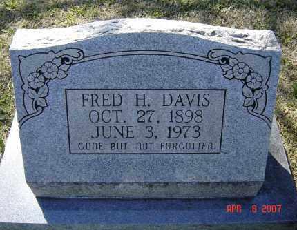 DAVIS, FRED HILL - Lawrence County, Arkansas   FRED HILL DAVIS - Arkansas Gravestone Photos