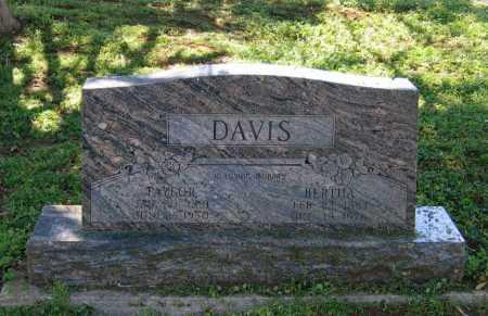 DAVIS, ISAAC TAYLOR - Lawrence County, Arkansas | ISAAC TAYLOR DAVIS - Arkansas Gravestone Photos
