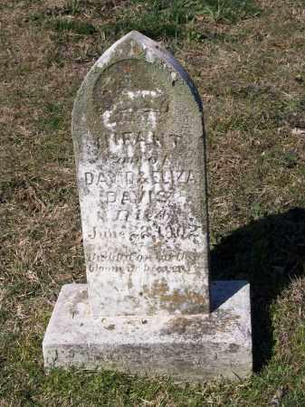 DAVIS, INFANT SON - Lawrence County, Arkansas | INFANT SON DAVIS - Arkansas Gravestone Photos