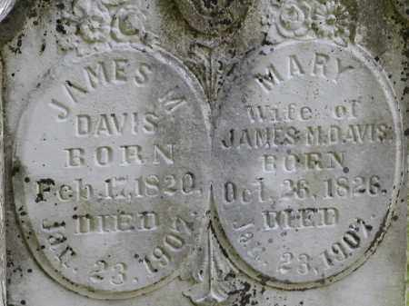 DAVIS, JAMES M. AND MARY MCCARROLL - Lawrence County, Arkansas | JAMES M. AND MARY MCCARROLL DAVIS - Arkansas Gravestone Photos