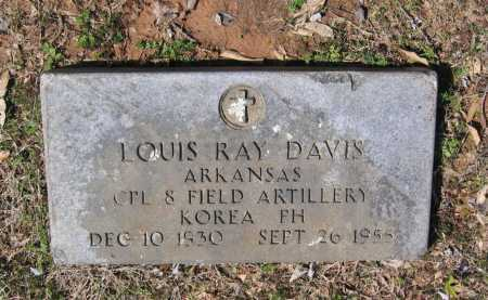 DAVIS (VETERAN KOR), LOUIS RAY - Lawrence County, Arkansas | LOUIS RAY DAVIS (VETERAN KOR) - Arkansas Gravestone Photos