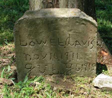 DAVIS, LOWEL - Lawrence County, Arkansas | LOWEL DAVIS - Arkansas Gravestone Photos