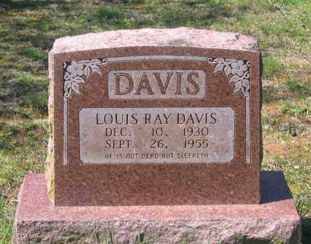 DAVIS, LOUIS RAY - Lawrence County, Arkansas   LOUIS RAY DAVIS - Arkansas Gravestone Photos
