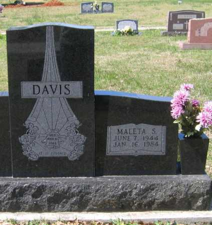 FOLEY DAVIS, MALETA SUE - Lawrence County, Arkansas | MALETA SUE FOLEY DAVIS - Arkansas Gravestone Photos