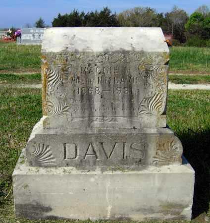"DAVIS, MARGARET N. ""MAGGIE"" - Lawrence County, Arkansas   MARGARET N. ""MAGGIE"" DAVIS - Arkansas Gravestone Photos"
