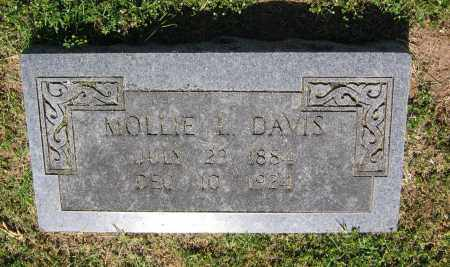 DAVIS, MOLLIE L. - Lawrence County, Arkansas | MOLLIE L. DAVIS - Arkansas Gravestone Photos