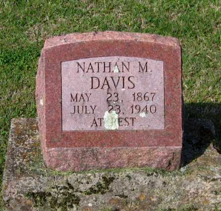 "DAVIS, NATHANIEL MANSFIELD ""NATHAN M."" - Lawrence County, Arkansas 