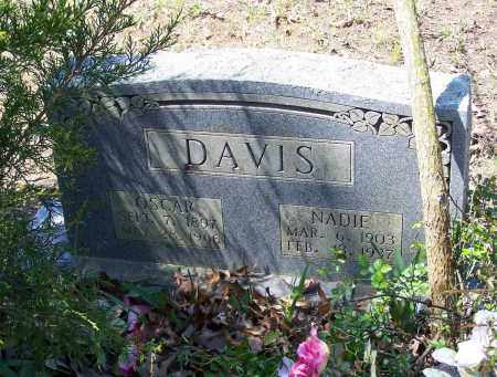 DAVIS, NADIE - Lawrence County, Arkansas   NADIE DAVIS - Arkansas Gravestone Photos