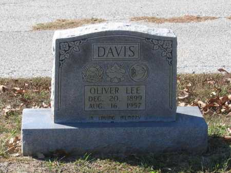 DAVIS, OLIVER LEE - Lawrence County, Arkansas   OLIVER LEE DAVIS - Arkansas Gravestone Photos