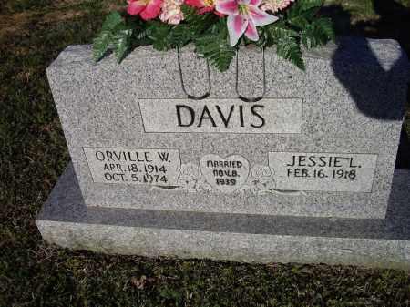 DAVIS, ORVILLE W. - Lawrence County, Arkansas   ORVILLE W. DAVIS - Arkansas Gravestone Photos