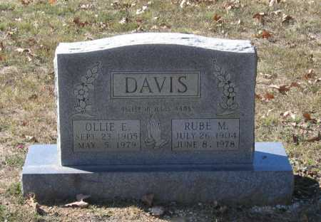 DAVIS, OLLIE EARNESTINE - Lawrence County, Arkansas | OLLIE EARNESTINE DAVIS - Arkansas Gravestone Photos