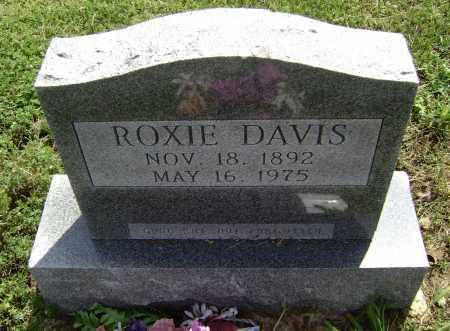 DAVIS, ROXIE NAOMI - Lawrence County, Arkansas | ROXIE NAOMI DAVIS - Arkansas Gravestone Photos