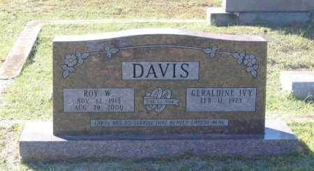 DAVIS, ROY WILLIAM - Lawrence County, Arkansas | ROY WILLIAM DAVIS - Arkansas Gravestone Photos