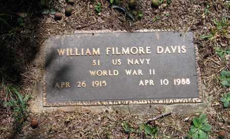 DAVIS (VETERAN WWII), WILLIAM FILMORE - Lawrence County, Arkansas   WILLIAM FILMORE DAVIS (VETERAN WWII) - Arkansas Gravestone Photos