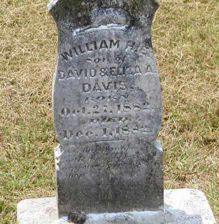 DAVIS, WILLIAM H. E. - Lawrence County, Arkansas | WILLIAM H. E. DAVIS - Arkansas Gravestone Photos