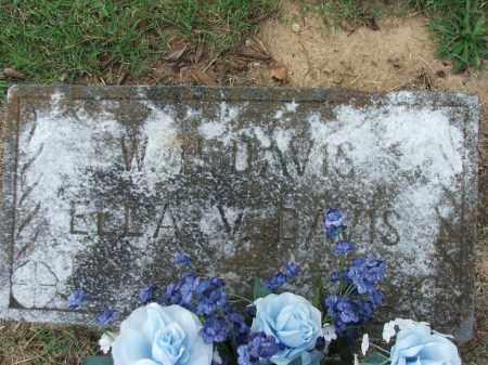 DAVIS, ELLA V. - Lawrence County, Arkansas | ELLA V. DAVIS - Arkansas Gravestone Photos