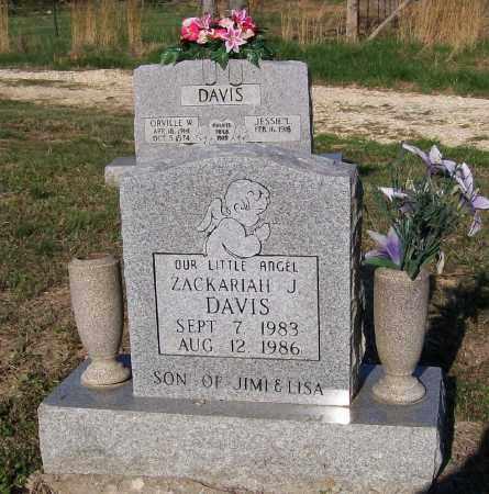 DAVIS, ZACKARIAH JAMES - Lawrence County, Arkansas | ZACKARIAH JAMES DAVIS - Arkansas Gravestone Photos