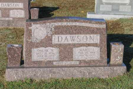 DAWSON, MABEL I. - Lawrence County, Arkansas | MABEL I. DAWSON - Arkansas Gravestone Photos