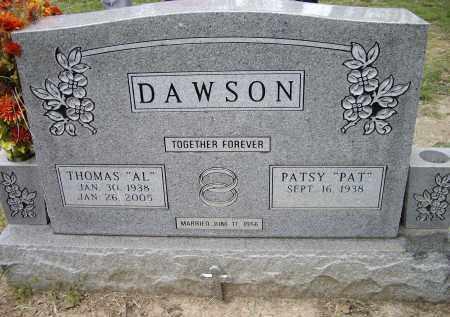 "DAWSON, THOMAS ALVIN ""AL"" - Lawrence County, Arkansas | THOMAS ALVIN ""AL"" DAWSON - Arkansas Gravestone Photos"