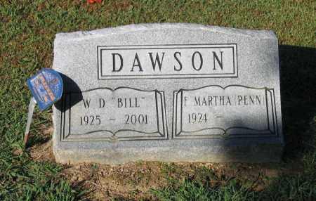 "DAWSON, WILLIAM DAVID ""BILL"" - Lawrence County, Arkansas | WILLIAM DAVID ""BILL"" DAWSON - Arkansas Gravestone Photos"