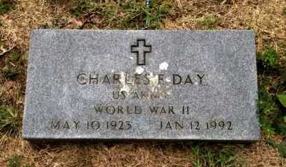 DAY (VETERAN WWII), CHARLES F. - Lawrence County, Arkansas | CHARLES F. DAY (VETERAN WWII) - Arkansas Gravestone Photos