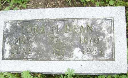 DEAN, LORA M. - Lawrence County, Arkansas   LORA M. DEAN - Arkansas Gravestone Photos