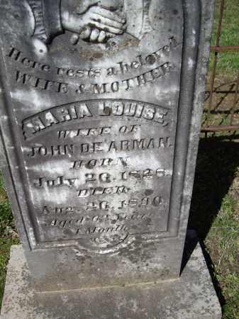 DE'ARMAN, MARIA LOUISE - Lawrence County, Arkansas | MARIA LOUISE DE'ARMAN - Arkansas Gravestone Photos