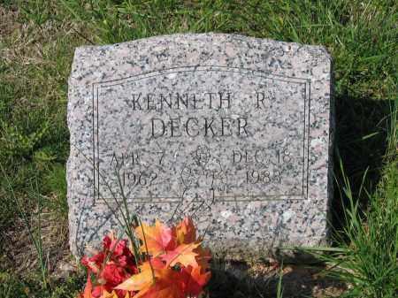 DECKER, KENNETH RAY - Lawrence County, Arkansas   KENNETH RAY DECKER - Arkansas Gravestone Photos